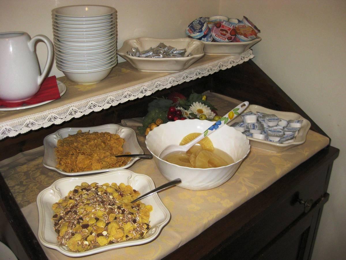 Ca' San Rocco - buffet colazione